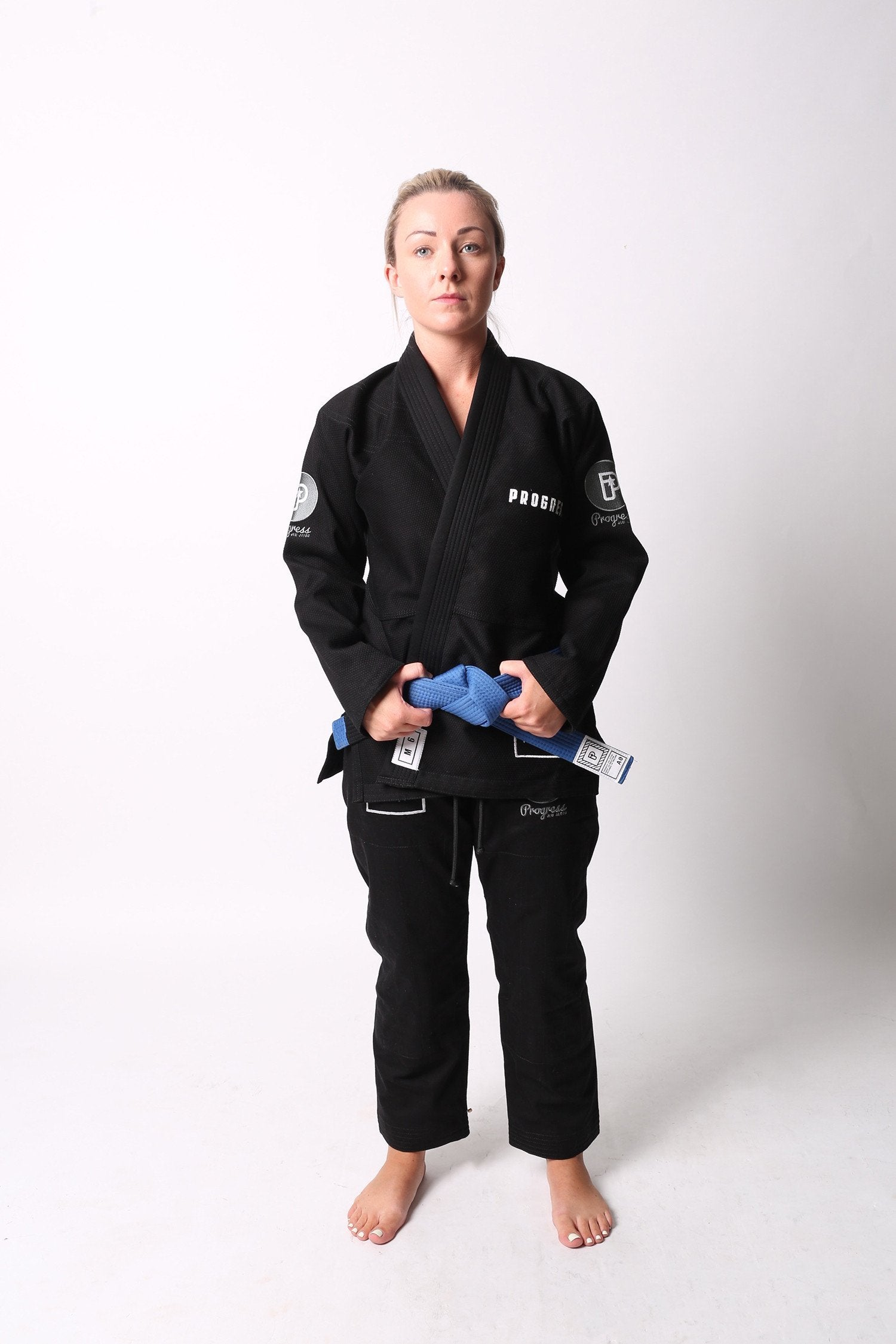 Image of Progress M6 MK3 Black Ladies BJJ Gi