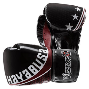 Hayabusa Pro Muay Thai Black Gloves