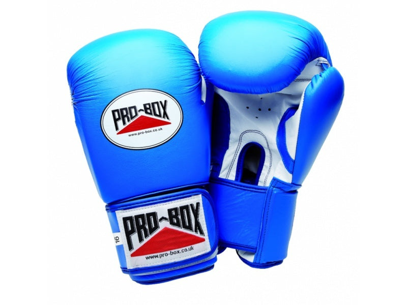 Pro Box Super Spar Blue Boxing Gloves
