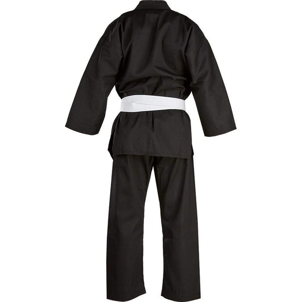 Blitz Kids V Neck Polycotton Black Dobok
