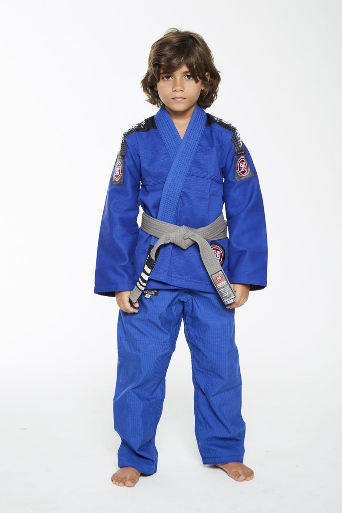 Image of Atama Ultra Light Blue Kids BJJ Gi