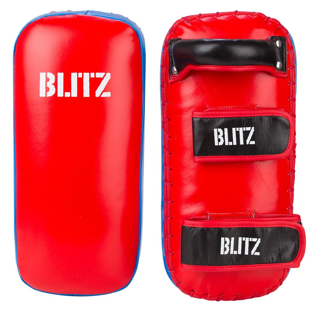 Image of Blitz Firepower Blue / Red Thai Pads