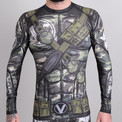 Valor Assassin Camo Rash Guard