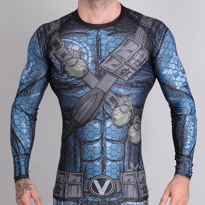 Valor Assassin Ladies Rash Guard