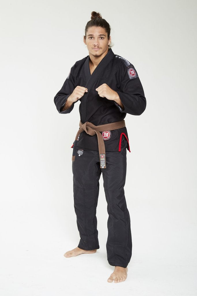 Image of Atama Ultra Light Black BJJ Gi 2.0