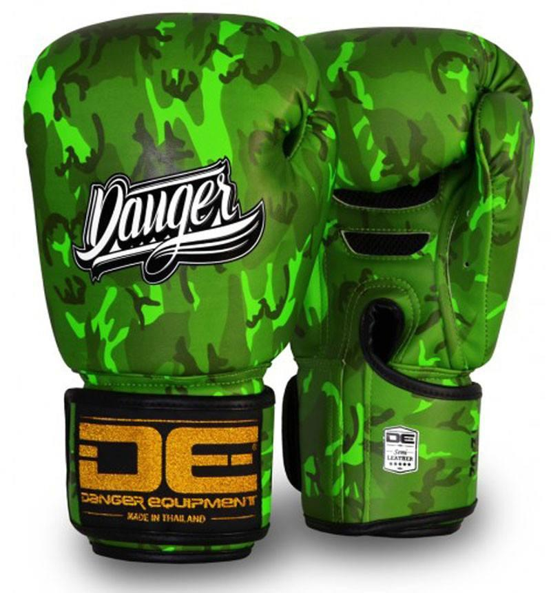 Image of Green Danger Boxing Gloves Army Edition