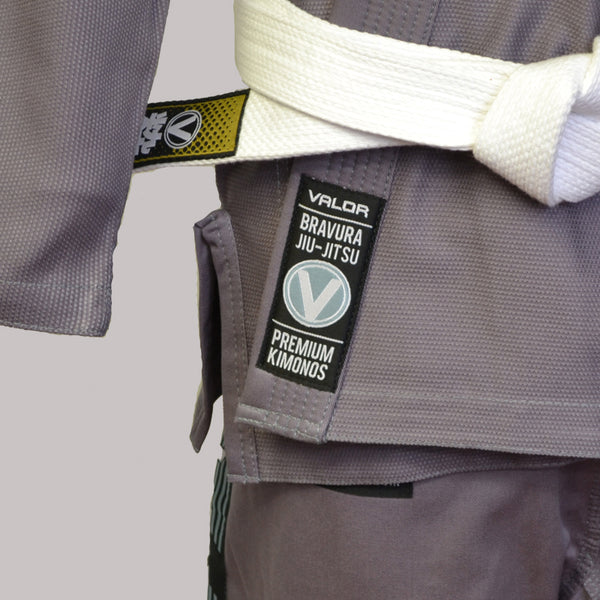 Valor Bravura Grey BJJ GI