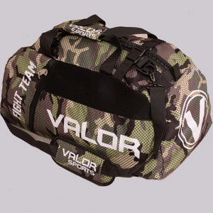 Valor Senshi Convertible Camo Sports Bag