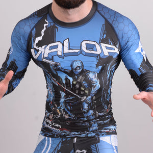 Valor Assassin Artwork Rash Guard