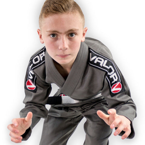 Bravura Grey Kids BJJ GI