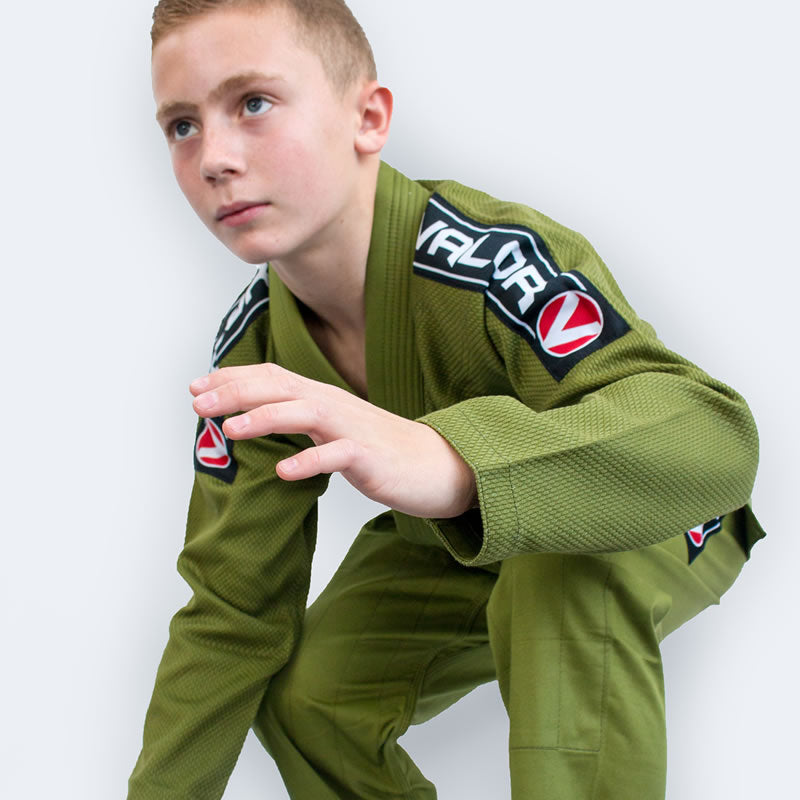 Bravura Green Kids BJJ GI