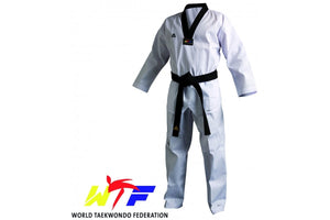 Adidas Adult WTF Champion III Dobok Black Collar