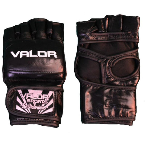 Valor Impact Black MMA Gloves