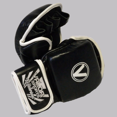 Valor Impact Black MMA Sparring Gloves
