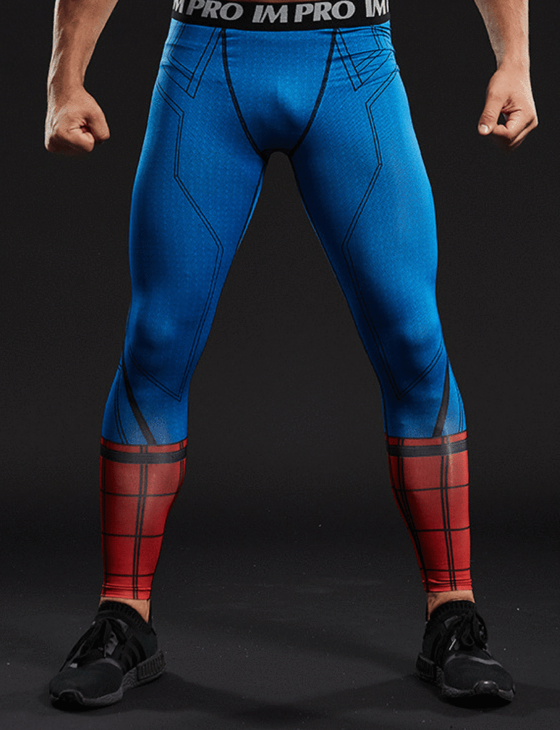 Image of Spiderman Red and Blue Spats