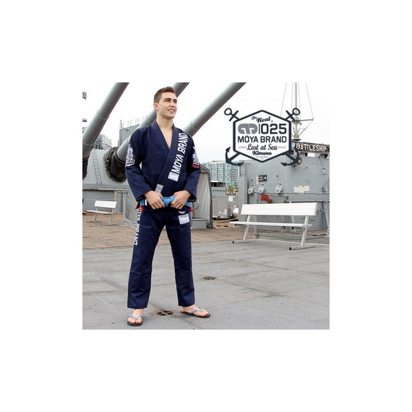 Moya Brand Lost at Sea Navy BJJ Gi