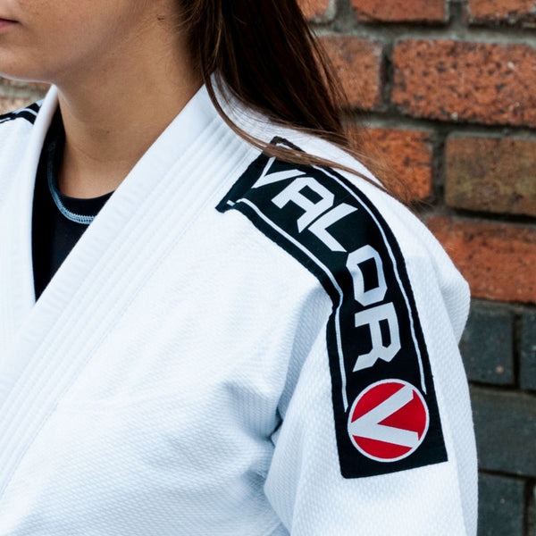 Valor Bravura White Ladies BJJ GI