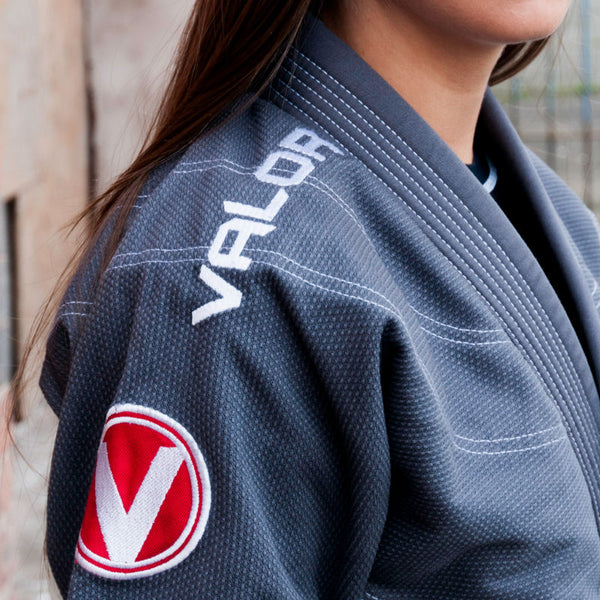Valor Victory 2.0 Premium Lightweight Grey Ladies BJJ GI
