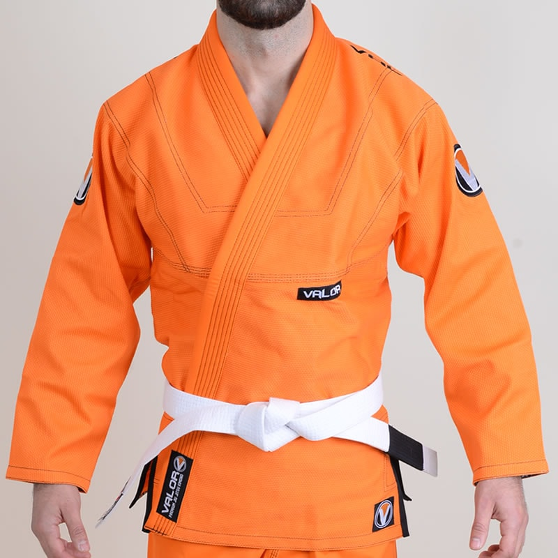 Valor Prime 2.0 Premium Lightweight Orange BJJ GI