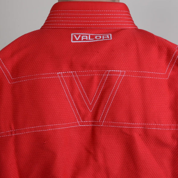 Valor Prime 2.0 Premium Lightweight Red BJJ GI