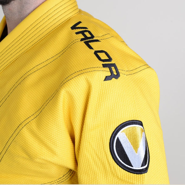 Valor Prime 2.0 Premium Lightweight Yellow BJJ GI