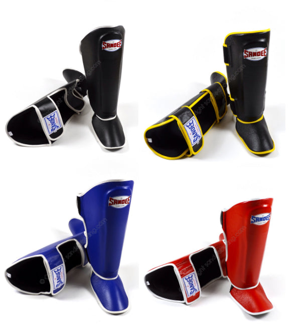 Image of Sandee Authentic Leather Boot Shin Guards