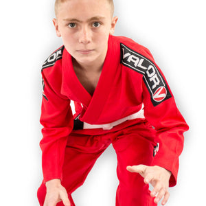 Bravura Red Kids BJJ GI