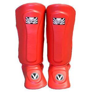 Valor Raibaru Red Shin Guards