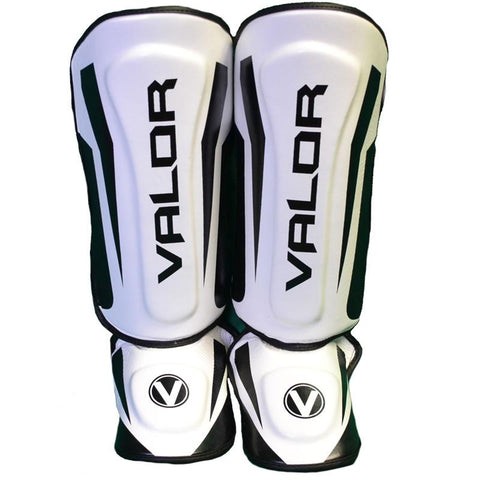 Valor Seisho Pro White Shin Guards