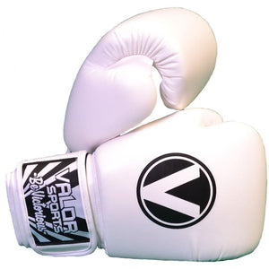 Valor Raibaru White Boxing Gloves