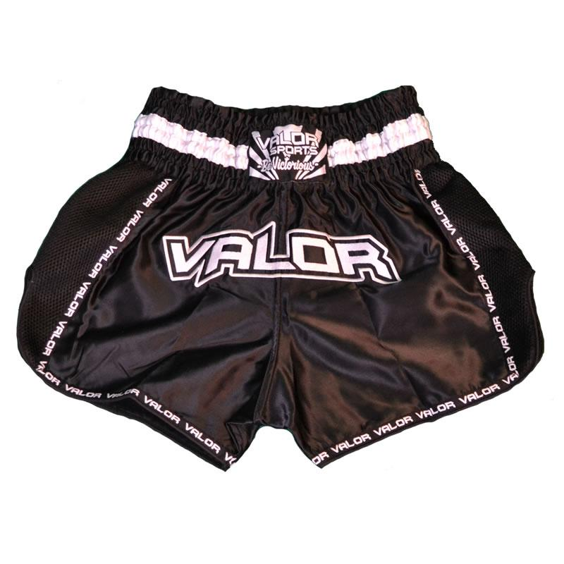 Valor Heishi Black Muay Thai Shorts