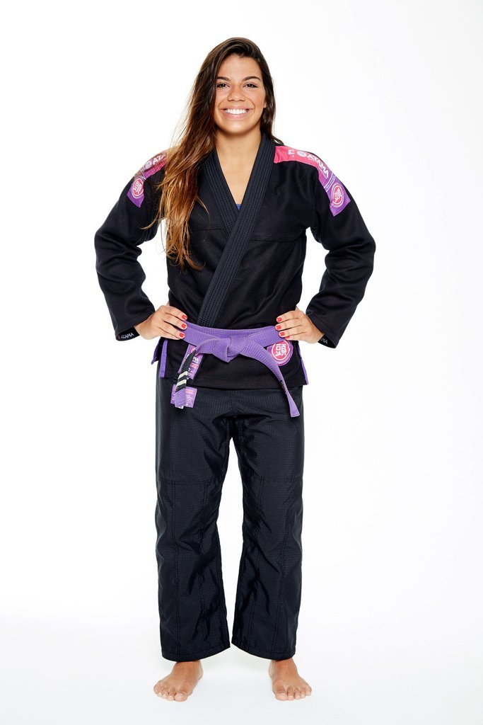 Image of Atama Ultra Light Black Ladies BJJ Gi