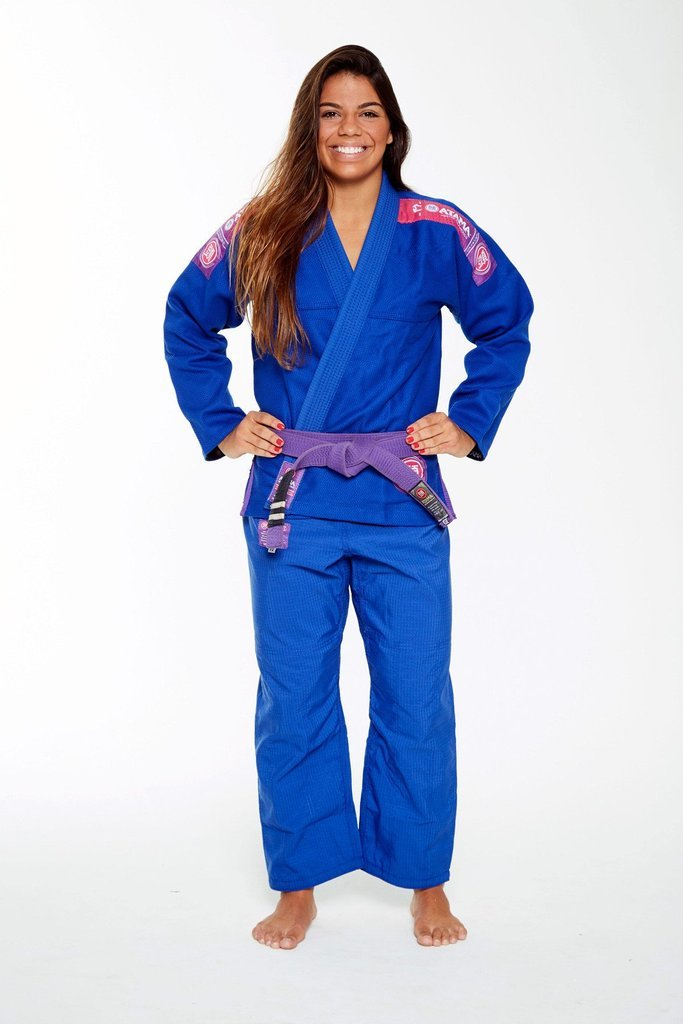 Image of Atama Ultra Light Blue Ladies BJJ Gi