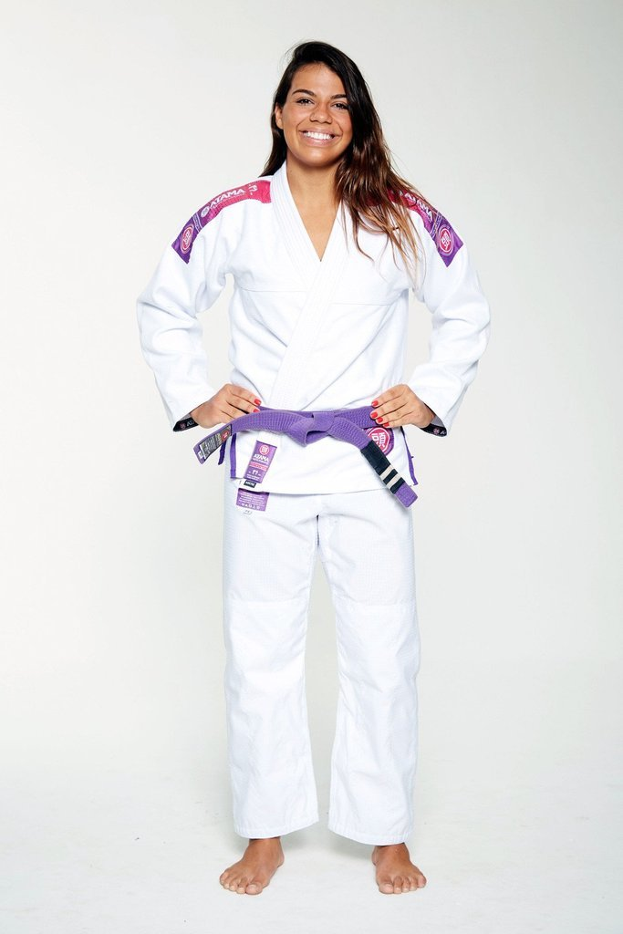 Image of Atama Ultra Light White Ladies BJJ Gi
