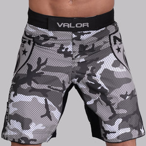 Valor Liquid Camo NO GI Shorts Urban