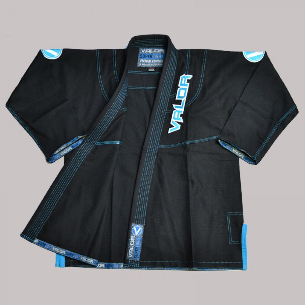 Valor VLR Suplerlight Kids Black BJJ GI
