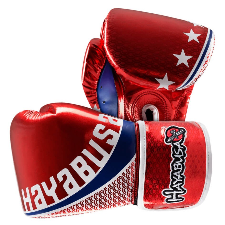 Image of Hayabusa Pro Muay Thai Red Gloves