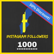 Buy 1000 Swedish Instagram Followers