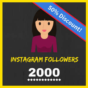 Buy 2000 Female Instagram Followers