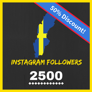 Buy 2500 Swedish Instagram Followers