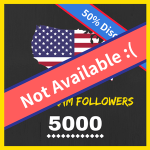Buy 5K American Instagram Followers