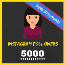 Buy 5000 Female Instagram Followers
