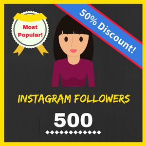 Buy 500 Female Instagram Followers