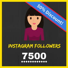 Buy 7500 Female Instagram Followers