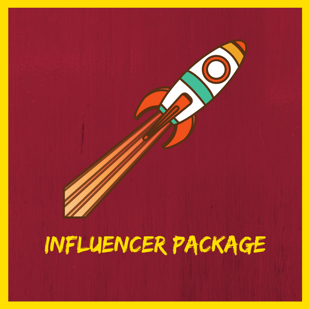 Buy the Instagram Influencer Package
