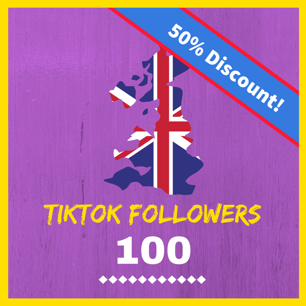 Buy TikTok followers UK