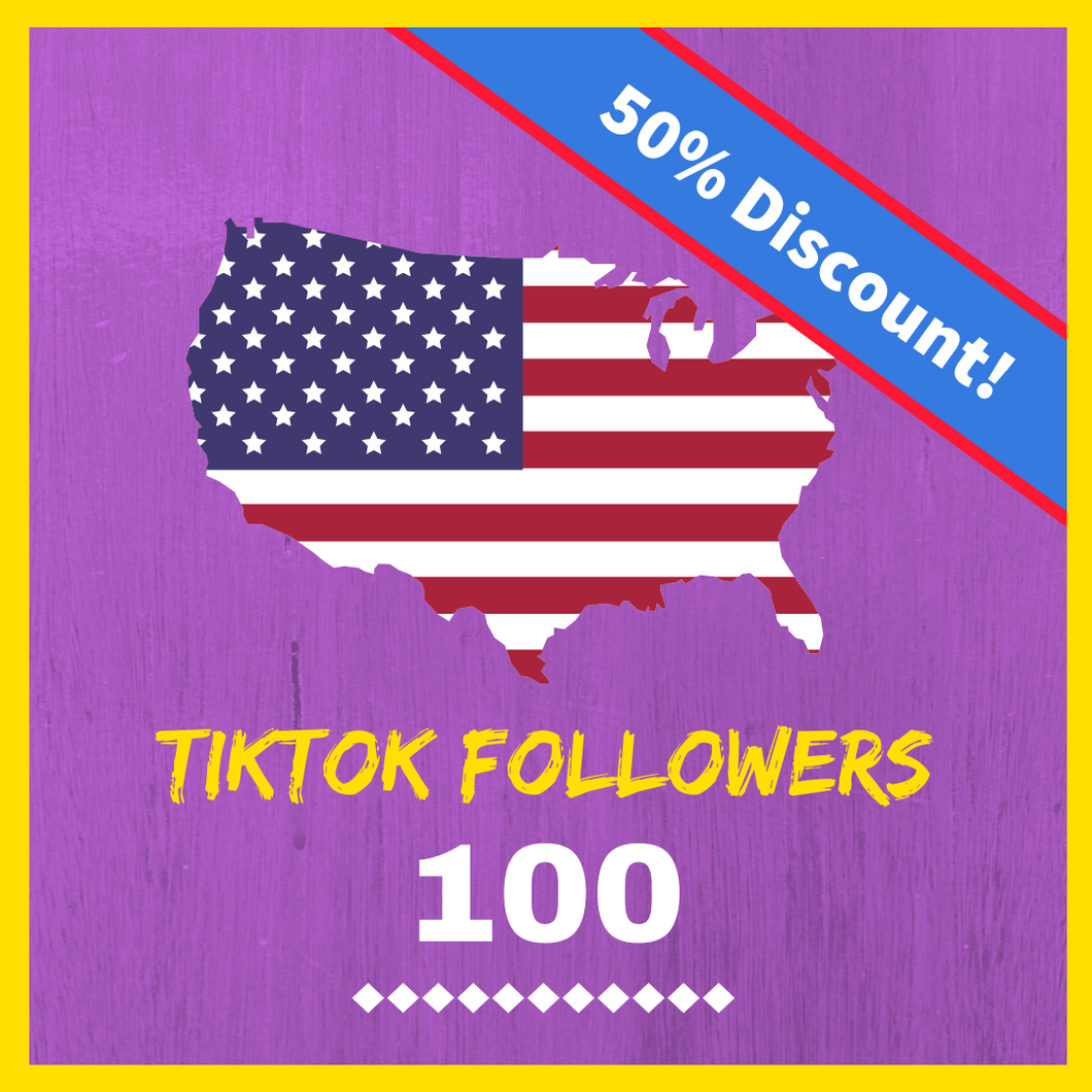 Buy USA TikTok followers