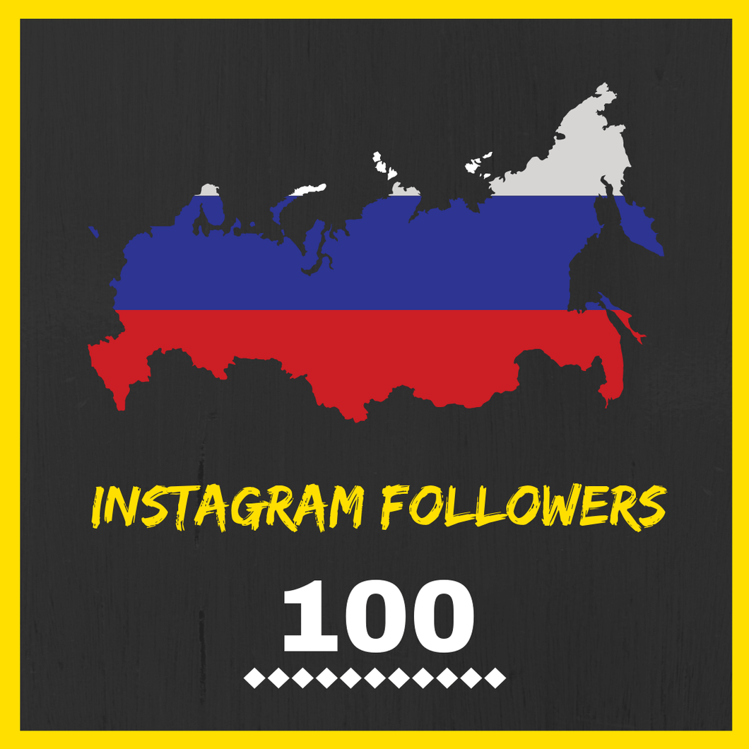 Buy Russian Instagram Followers