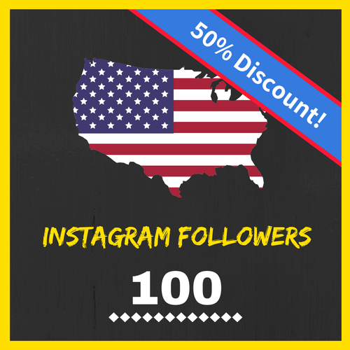 Buy 100 USA Instagram Followers