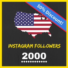Buy 2000 USA Instagram Followers